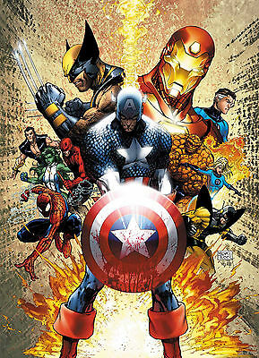 Marvel - Civil War Art Matte Poster Print - Wall Art - Buy 2 Get 1 Free