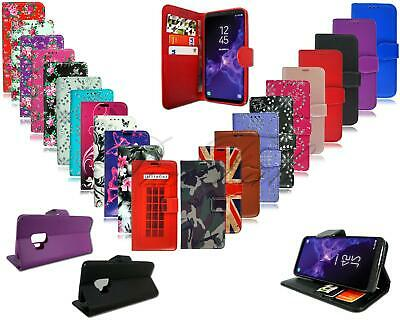 For Vodafone Smart X9 New Premium Black Pink Leather Wallet Phone Case Cover