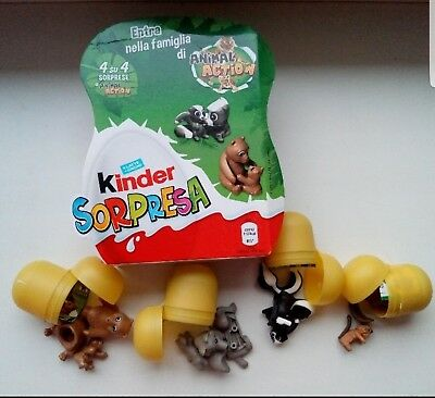 Kinder surprise toys family of animals