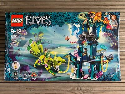 LEGO Elves 41194 Noctura's Tower & the Earth Fox Rescue – New & Sealed 🐲