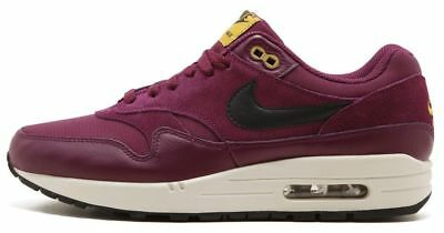 wholesale dealer 7a897 8c550 Air Max 1 Premium, 875844 601, Brand New, Bordeaux  Black Desert Moss   (Grape )