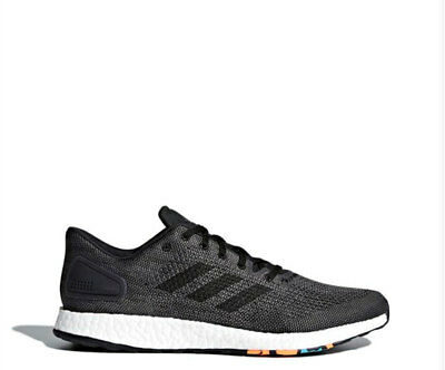 c1d510b4a ADIDAS MEN S PUREBOOST DPR Running Training Shoes Black Pure Boost ...