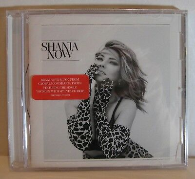 SHANIA TWAIN - SHANIA NOW - CD Still Sealed - B0026390-02 Mercury Nashville Mint