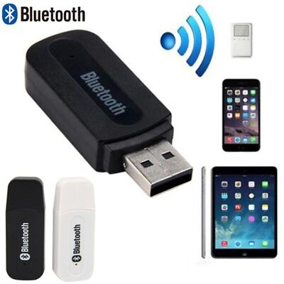 Mini USB Wireless Bluetooth 3.5mm Aux Stereo Audio Car Receiver Adapter -Cool~~-