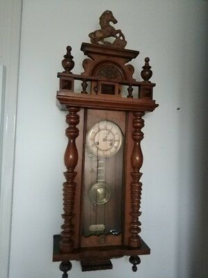 Antique Junghans Wall Clock - Regulator Clock