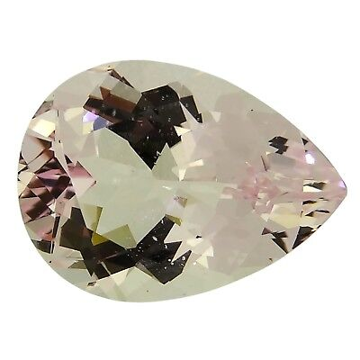 Pear morganite 2.95ct natural loose gemstones