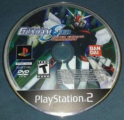 Mobile Suit Gundam Seed Never Ending Tomorrow Sony PlayStation 2 PS2