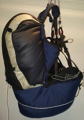 Paragliding Reversible Harness/Rucksackand Front Reserve Container - Hike & Fly