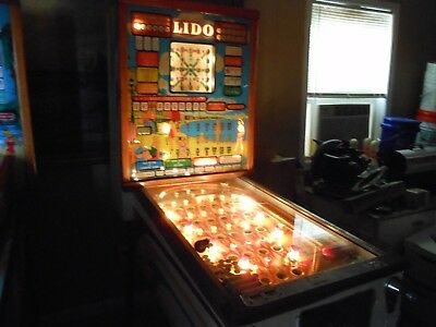 1961 Bally Lido Bingo Pinball Machine