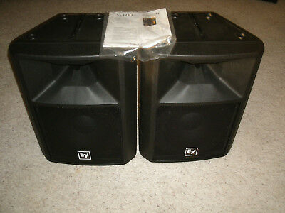 EV (Electro-Voice) SX100+ Professional Speakers - Excellent Condition !!