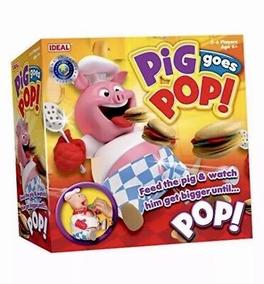 New Pig Goes Pop Game - Feed The Pig and Watch Him Get Bigger Until POP!