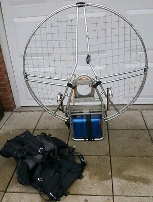 Bailey Paramotor frame, fuel tank and harness