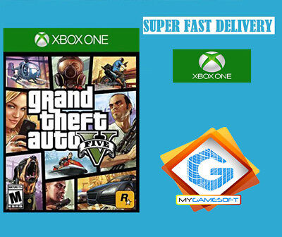 Grand Theft Auto V Digital Key XBOX ONE  Superfast Delivery