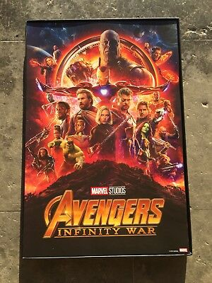 MARVEL STUDIOS 💫The First 10 Years Anniversary MCU Avengers Infinity War Poster
