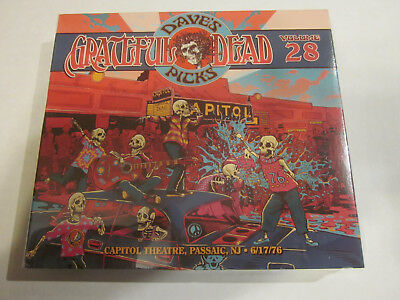 GRATEFUL DEAD Dave's Picks 28 New & Sealed 6/17/1976 Passaic, NJ, SOLD OUT LOW #