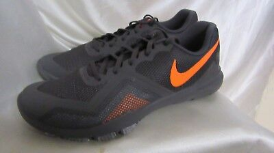 2682983a7e696 Men`s Nike Flex Control Ii Athletic Sneakers Size 11M New  924204 080 Grey