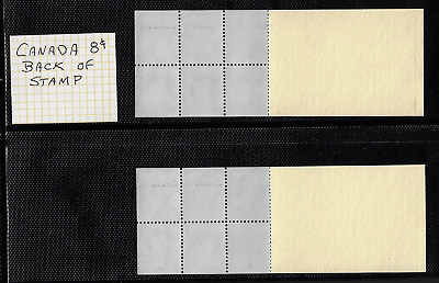 """Canada — 2 Booklets Pane of 6 — Caricatures #586a (BK74...) """"Varieties"""" MNH"""