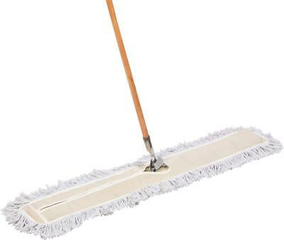 Tidy Tools 48 inch Cotton Dust Mop with Wood Handle