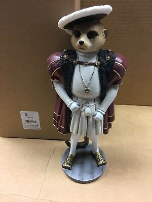Country Artists - Henry - Magnificent Meerkats Rrp £44.00 King Henry Viii