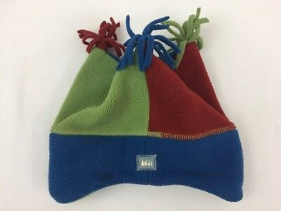 6a0b0834bf2efb REI WINTER FLEECE Jester Kids 4-7Hat Cap Beanie Warm Kid's 4-7. T9 ...