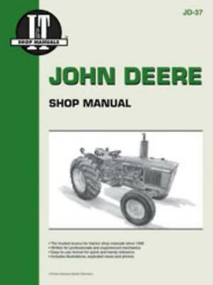 I&T Workshop Manual John Deere 1020 1520 1530 2020 2030 Tractor Service Repair