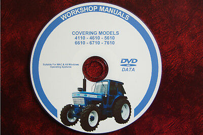 Ford 4110 4610 5610 6610 6710 7610 Tractor Workshop Service Repair Manual