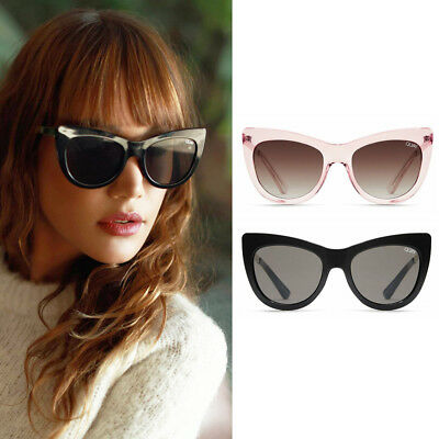 06af347fad6 QUAY STEAL A Kiss Sunglasses Cat Eye Frames - Authentic All Colors Black  Pink -  28.00
