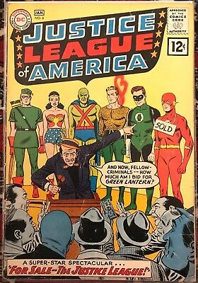 Justice League of America #8 - 'For Sale The Justice League' - 1961 - DC
