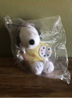 Snoopy the Painter Plush Toy, Singapore Airlines, New