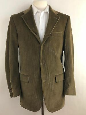 J. PRESS Plymouth Beige Brown Tan Corduroy Cotton Sport Coat Jacket 41T Tall