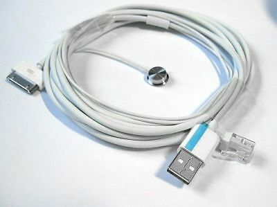 Apple iPhone iPod Pad 1, 2 Charging USB Charger Cable Foxlink Epedx NEW y