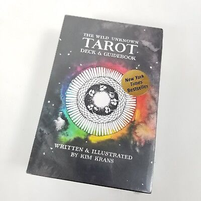 The Wild Unknown Tarot Deck and Guidebook by Kim Krans [Mysticism] [Hardcover]