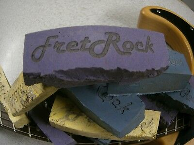 Fret Rock- Fret Abrasive Rubber