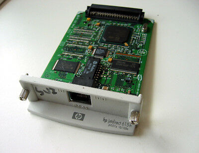 HP JetDirect 615n 10 100tx LAN Network Adaptor Card for Laser Printer Server a