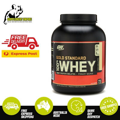 On Optimum Nutrition Gold Standard 100% Whey Protein Wpi Recovery 2 5 Or 10 Lbs