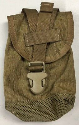 MOLLE 1QT Canteen Pouch Specter 388COY General Purpose Coyote Brown NEW