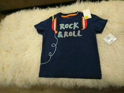 Mini Boden Rock And Roll Tshirt Boys Top 2 3y 2t 3t Nwt Nordstrom