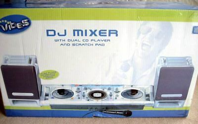 Used DJ CD Mixer CD+G Graphics to TV Video Player with speakers Rare CDG Sydney