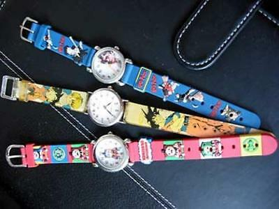 3x kids wrist watches harry potter thomas & friends etc