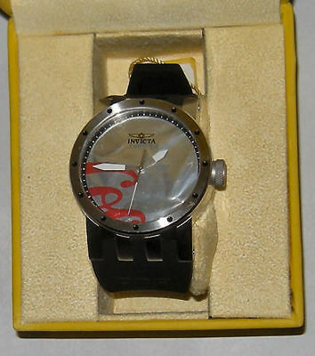 INVICTA Coca Cola Recycleart Swiss Movement Parts 50mm Gorgeous Works Great DNA