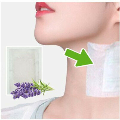 Fashion Neck Lymphatic Detox Patch Anti-Swelling Herbal Lymph Pads Foot Patch ~