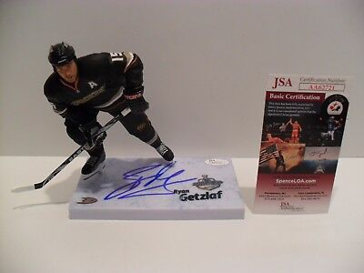 a621f1781 Ryan Getzlaf Autographed Signed Anaheim Ducks McFarlane JSA COA Stanley Cup  Base