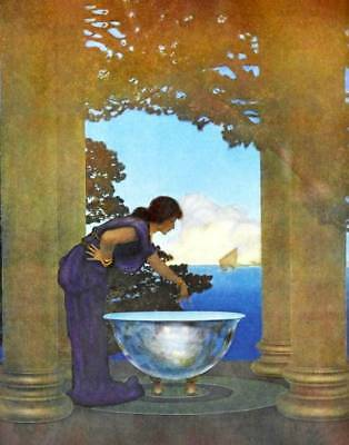 """""""The Circle"""" by Maxfield Parrish"""