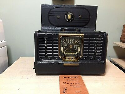 Vintage Zenith Trans-Oceanic Portable Radio Model G500 Chassis 5G-40