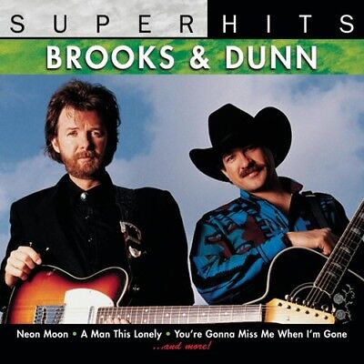 Super Hits by Brooks & Dunn (CD, Apr-2007, Sony/BMG) *NEW* *FREE Shipping*