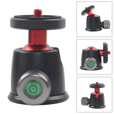 Mini Tripod Monopod Ball Head Ballhead+Quick Release Plate For DSLR Camera Gopro