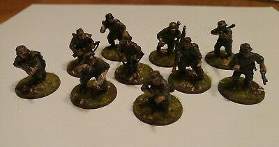 BOLT ACTION WARLORD Games German Panzer Grenadier Submachine Gun Squad