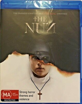 The Nun (2018) Genuine Aust Release R/b Blu Ray New Sealed Horror Supernatural