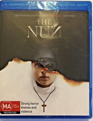 The Nun {2018} Genuine Aust Release R/b Blu Ray New Sealed Horror Supernatural