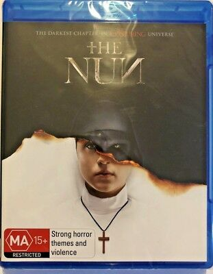 The Nun *2018* Genuine Aust Release R/b Blu Ray New Sealed Horror Supernatural